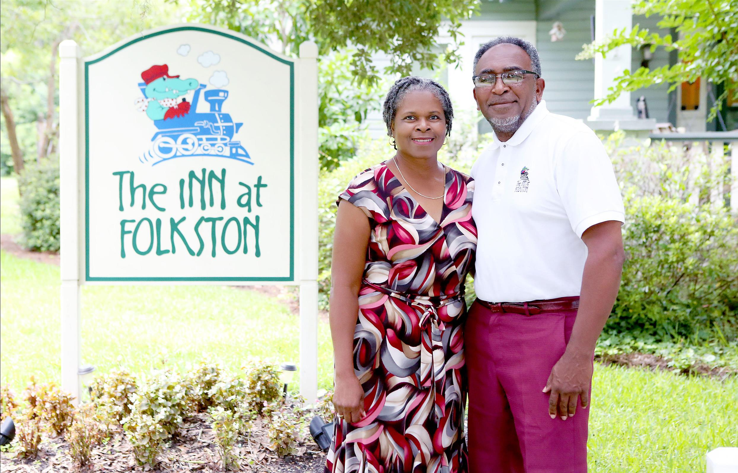 Innkeepers at inn at folkston